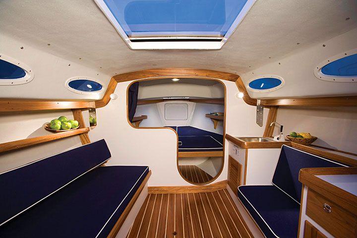 Alerion Express 28 Anniversary Edition Boat Interior Design
