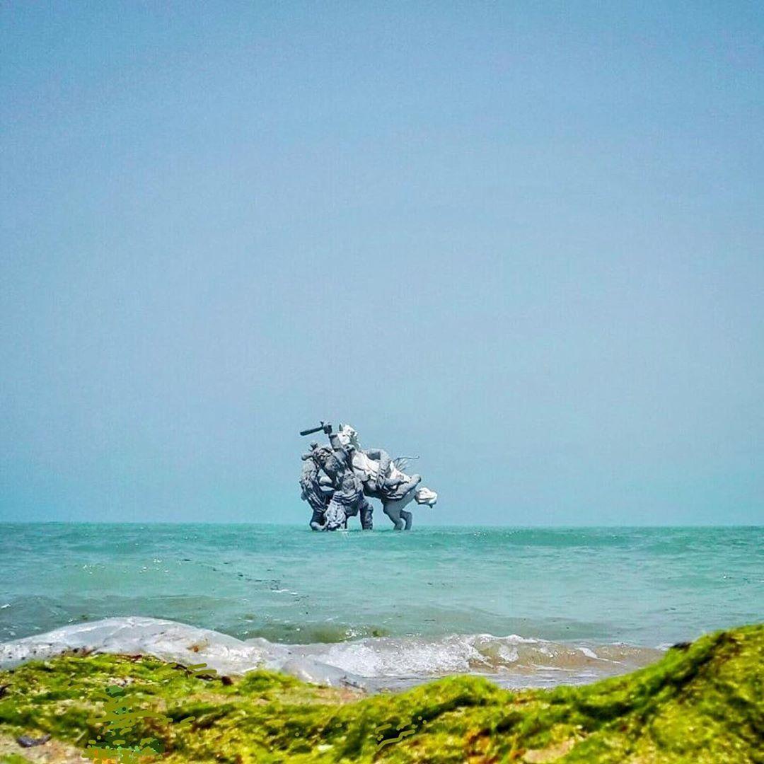 "B A N A F I A N on Instagram: ""#ساحل_بوشهر  #ساحل #beach #blue  Photo by: @yasal_81 #sunest_vision #exclusive_shots #mastershots #superhubs #amazing #inestagram…"""