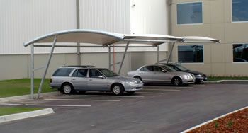 Cantilever Car Parking Shades: December 2012