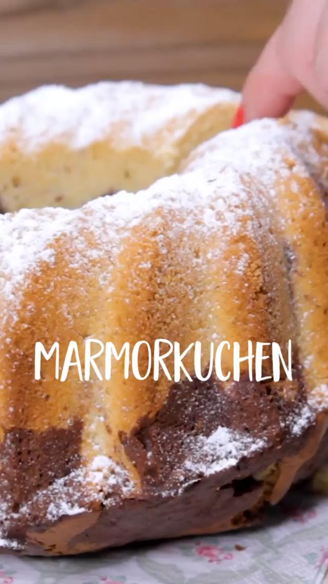 Marmorkuchen –  ein zeitloser Klassiker