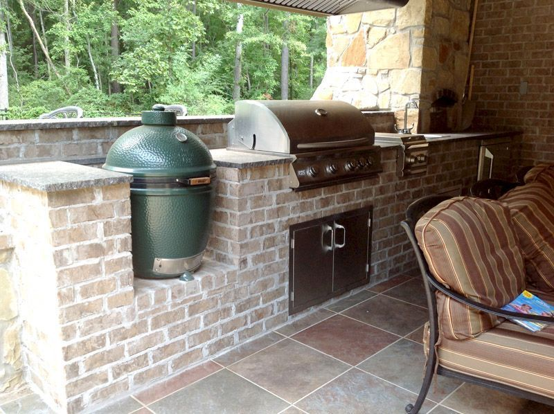 Captivating Enticing Idea To Outside Kitchen