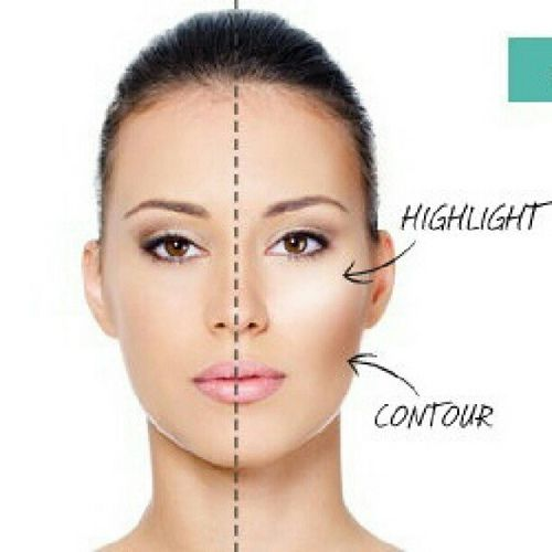 #highlight #contour #makeup #howto | Flickr - Photo Sharing!