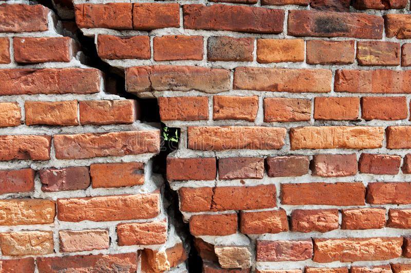 Image result for cracked brick   Brick, Image, Wood