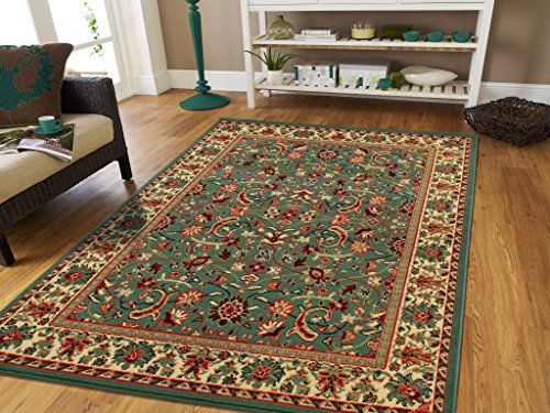 Long Narrow 2x8 Traditional Runner Rug For Hallway 2 By 7 Kitchen Green Runners