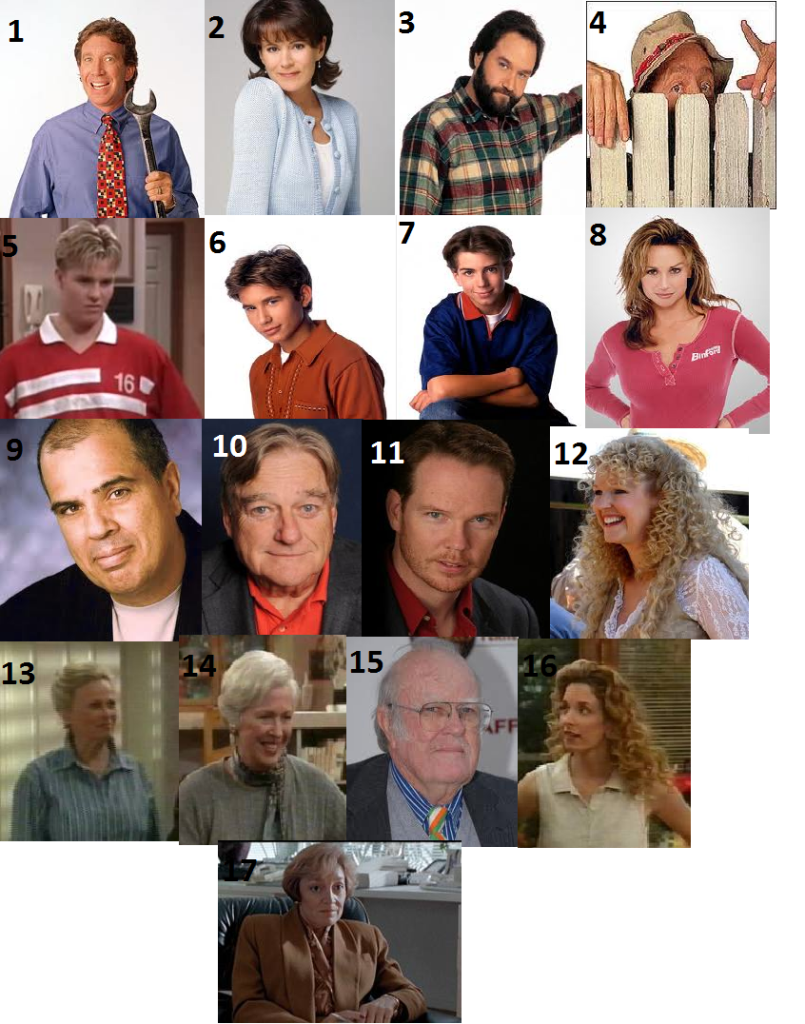 Home Improvement Show Cast Names - info on financing home ...