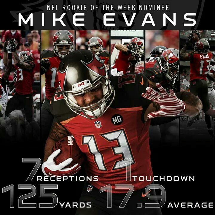 Mike Evans Mike Evans Tampa Bay Bucs Tampa Bay Buccaneers