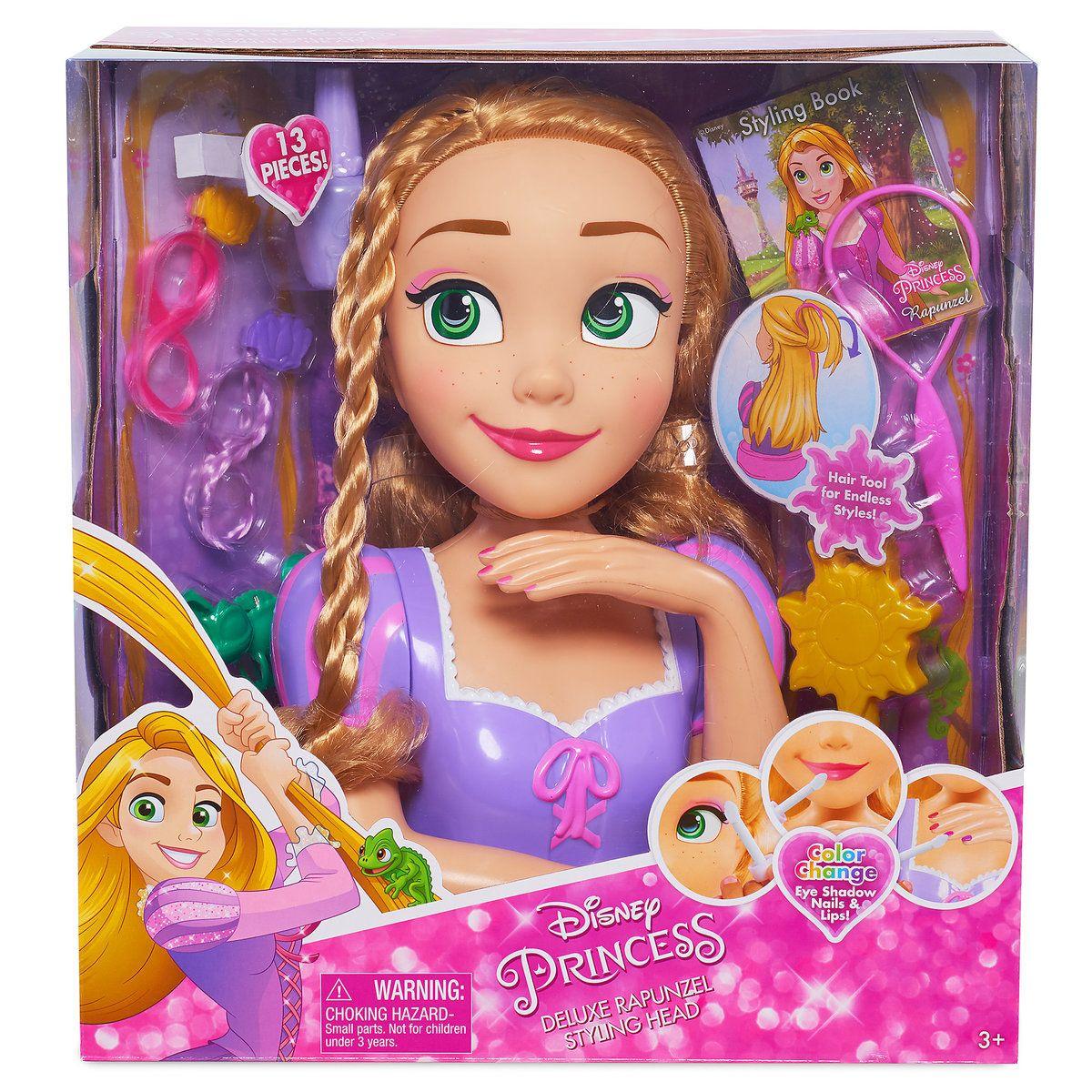 Rapunzel Deluxe Styling Head Shopdisney Disney Princess Toys Princess Toys Disney Princess Rapunzel
