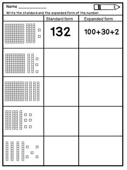 Place Value Worksheets For 2nd Grade Digital And Pdf 2nd Grade Math Worksheets Place Value Worksheets Second Grade Math