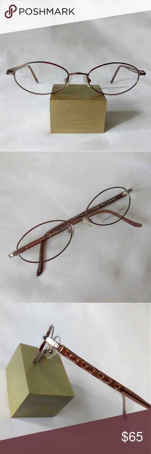 386565827d0e Carolina Herrera Eyeglasses Frame 100% Authentic New without case Comes as  seen in pictures Size