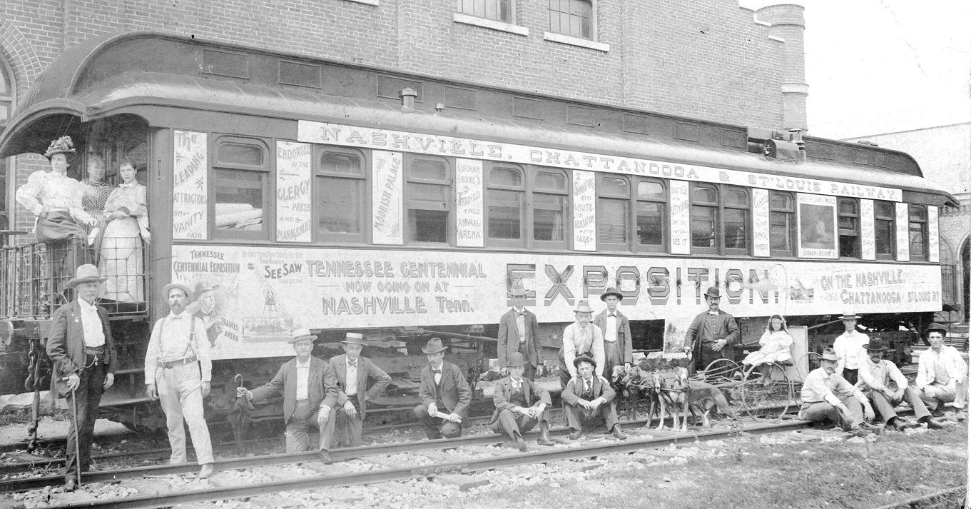 Boone Nashville Express Car used to transport Circus