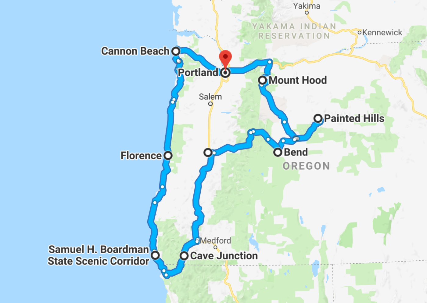 The Ultimate Oregon Road Trip Itinerary You Should Steal - Follow Me Away