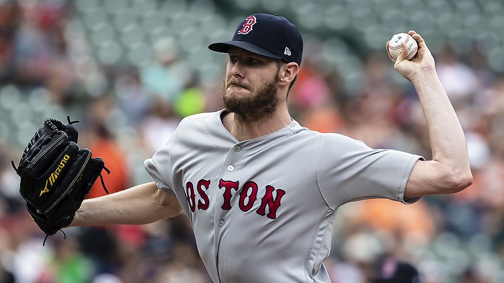 2019 MLB Odds for Most Pitching Wins: Sale 12-1   Boston ...