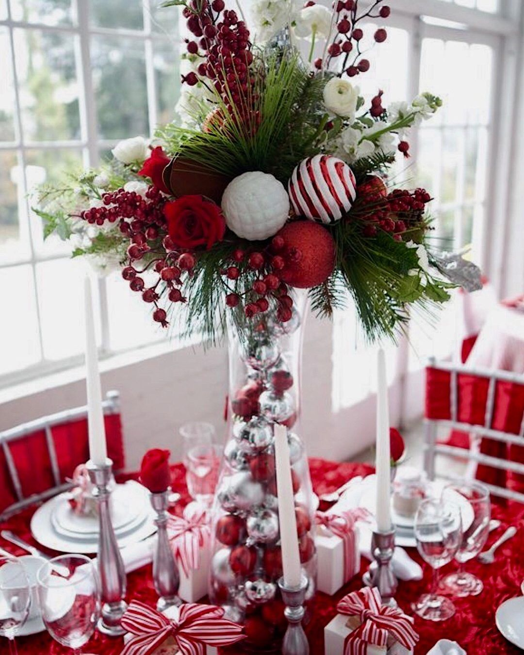 Xmas Table Centerpieces Ideas: 20 Exceptional Christmas Table Centerpiece & Decorating