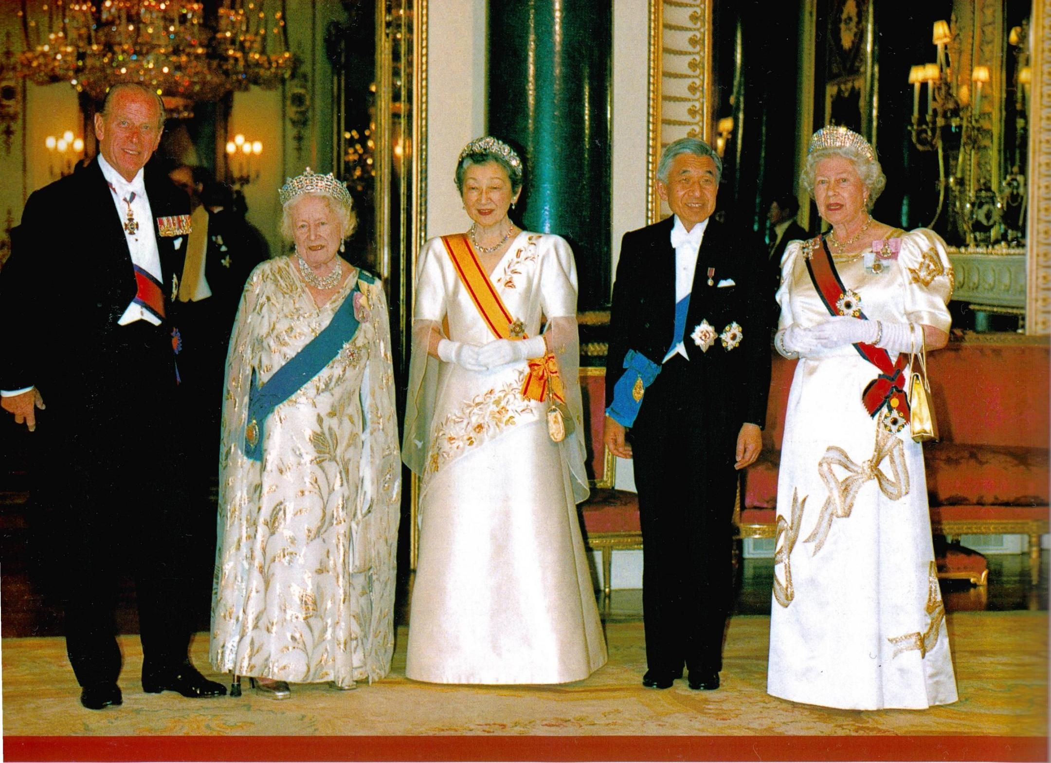 Japanese State Visit to the United Kingdom (1998)