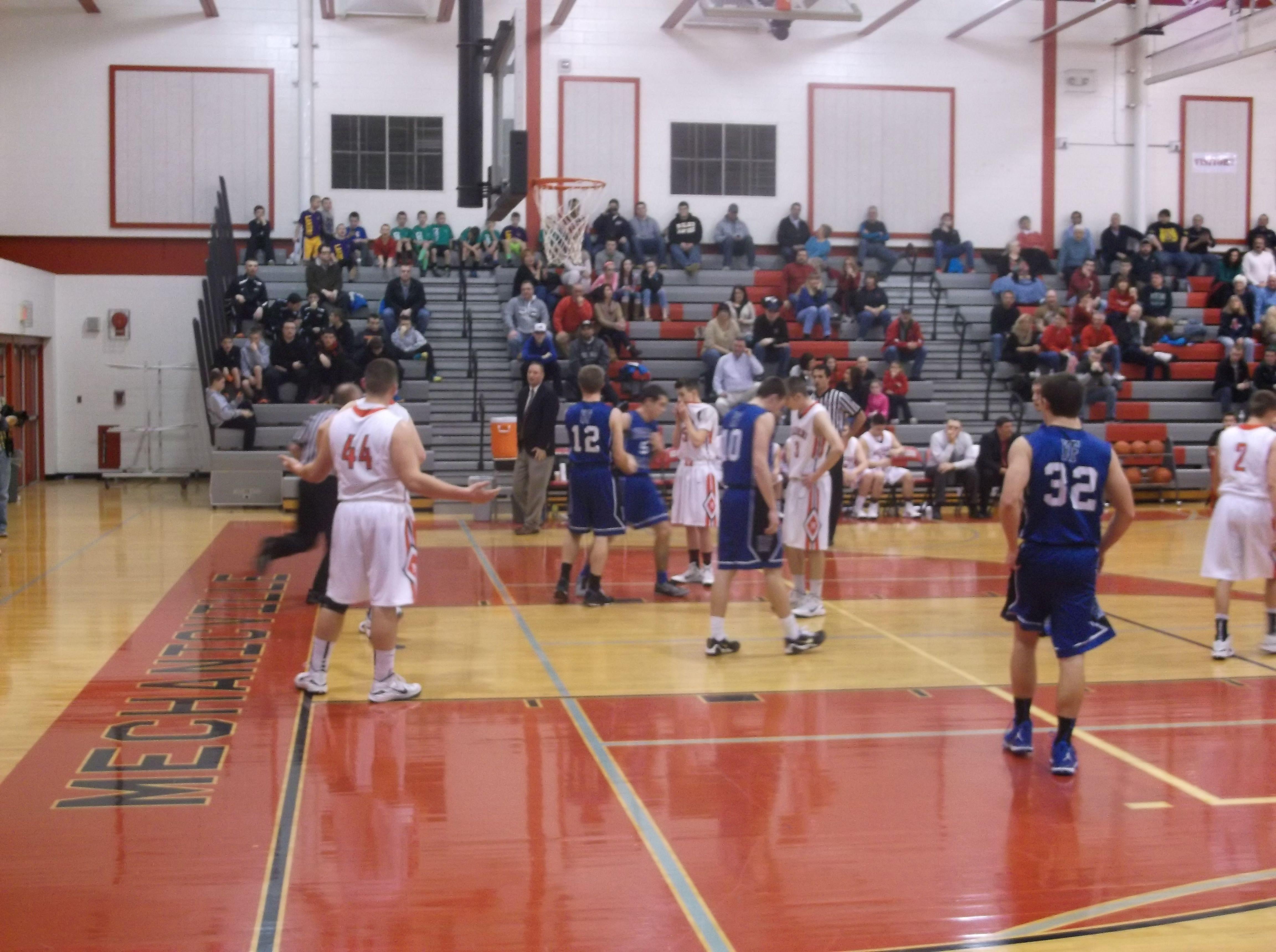 1 26-2015 Mechanicville vs Husic Valley Basketball