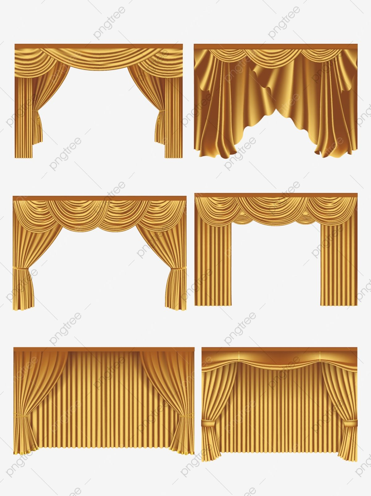 Stage Curtain Vector Material Cinema Clipart Stage Curtain Png And Vector With Transparent Background For Free Download Stage Curtains Curtains Vector Curtains