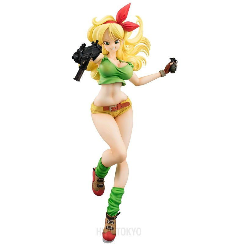 GEM Dragon Ball Z Gals Android 18 lazuli PVC Figure Anime Toy Gift