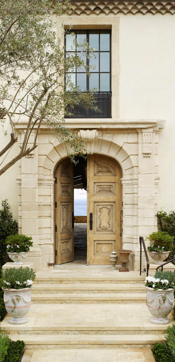Gorgeous Entry Old World Mediterranean Italian Spanish Tuscan