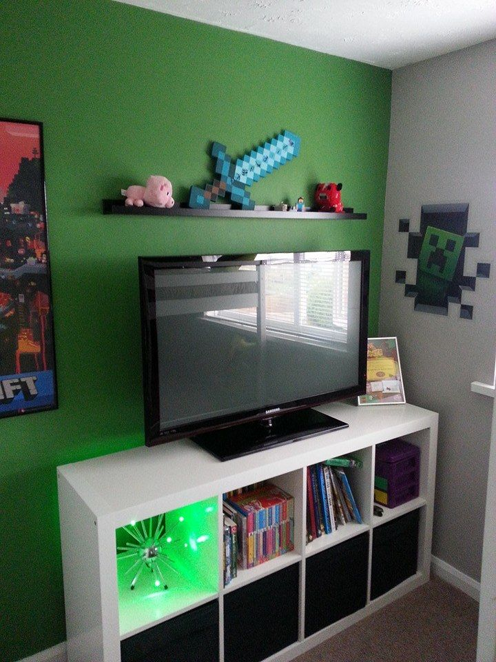 Dulux Kids Bedroom In A Box: The Unit Is From The 'Expedit' Range In Ikea Using Their