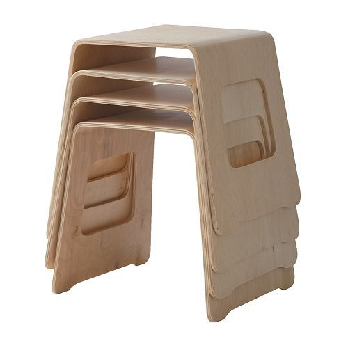 Groovy These Stools Look Amazing And Are A Great Space Saving Idea Ncnpc Chair Design For Home Ncnpcorg