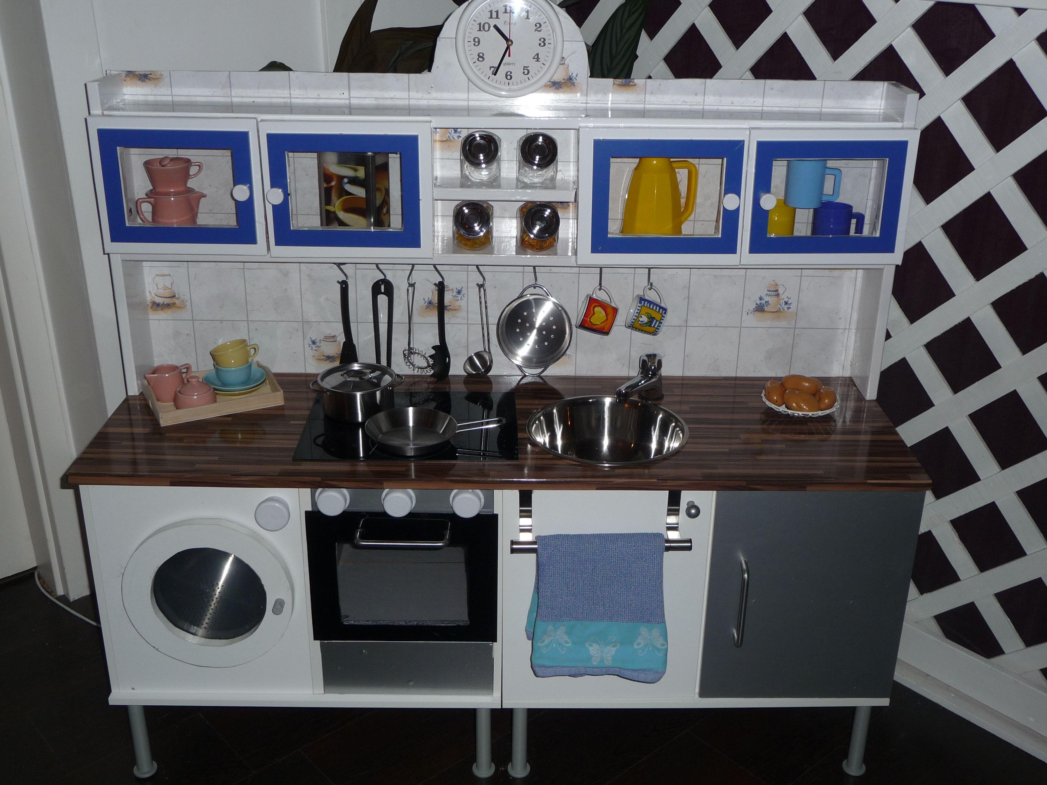 Kinderküche Selber Bauen Aus Stühlen