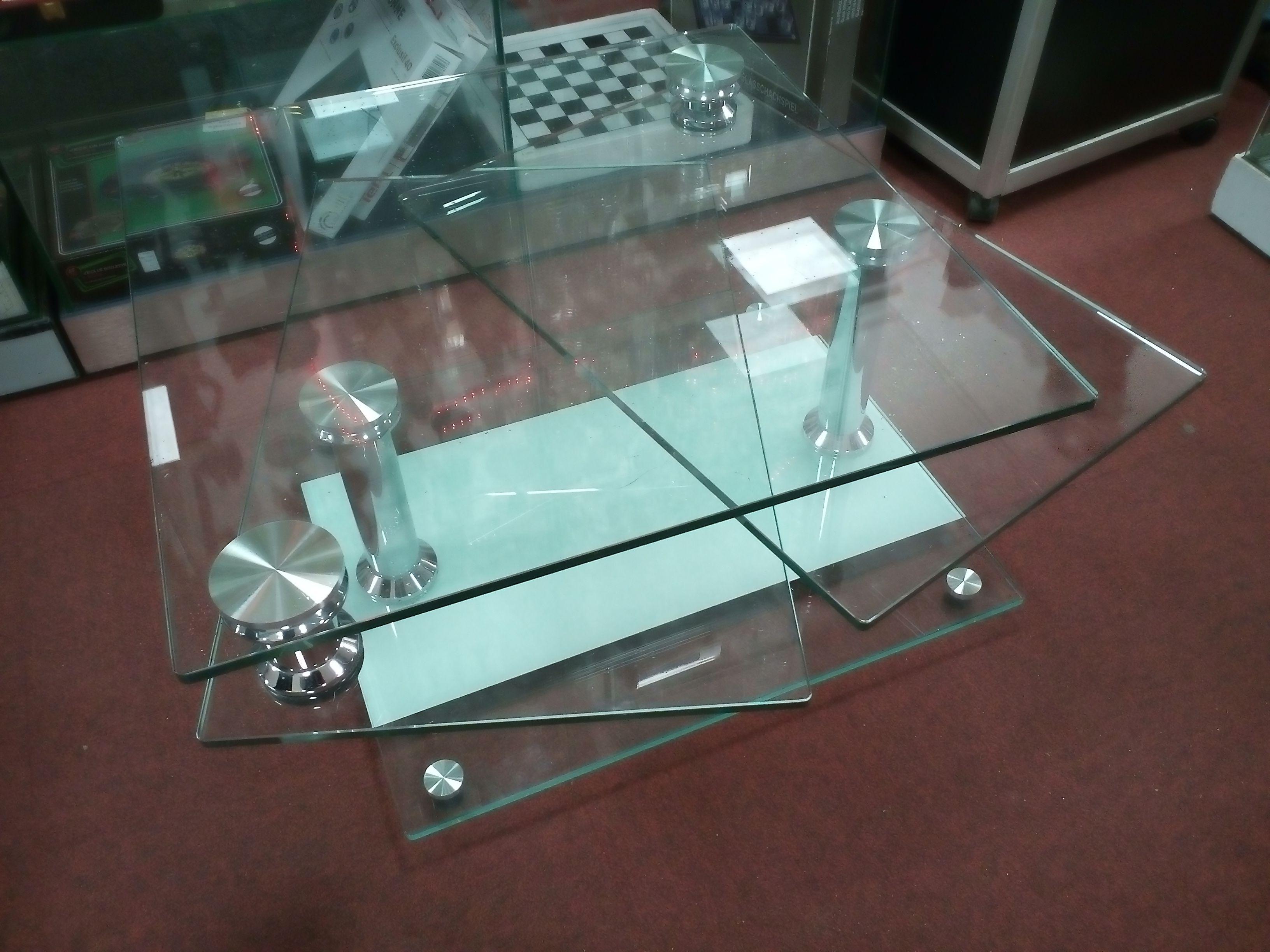 Table Basse Verre Plateau Pivotant Table Basse Verre