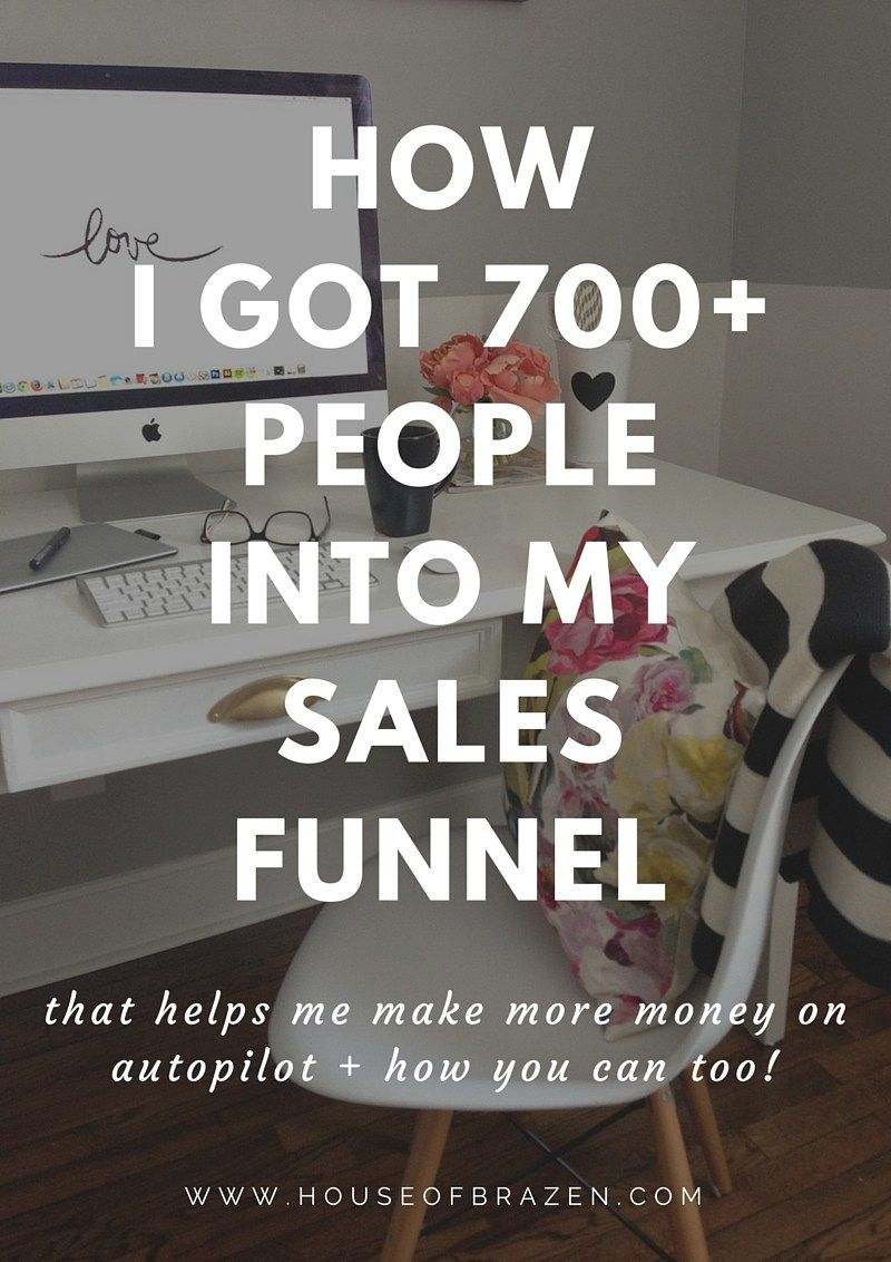 How I Got 700+ People To Enter My Sales Funnel Business