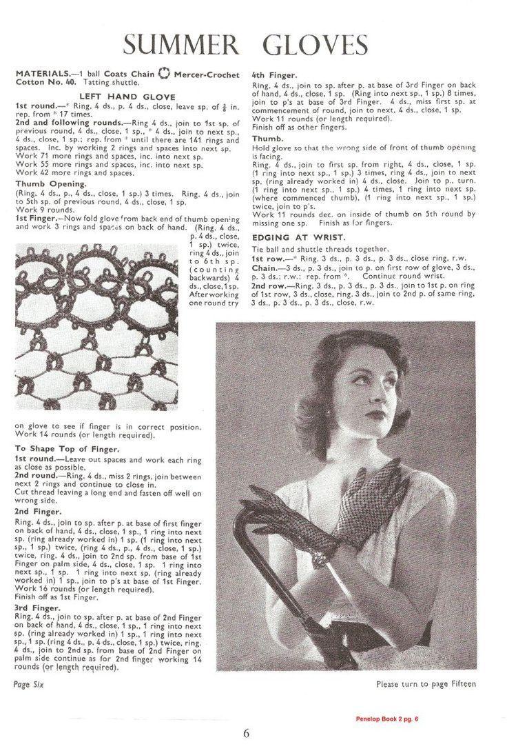 The Art of Vintage Tatting | Tatting | Pinterest