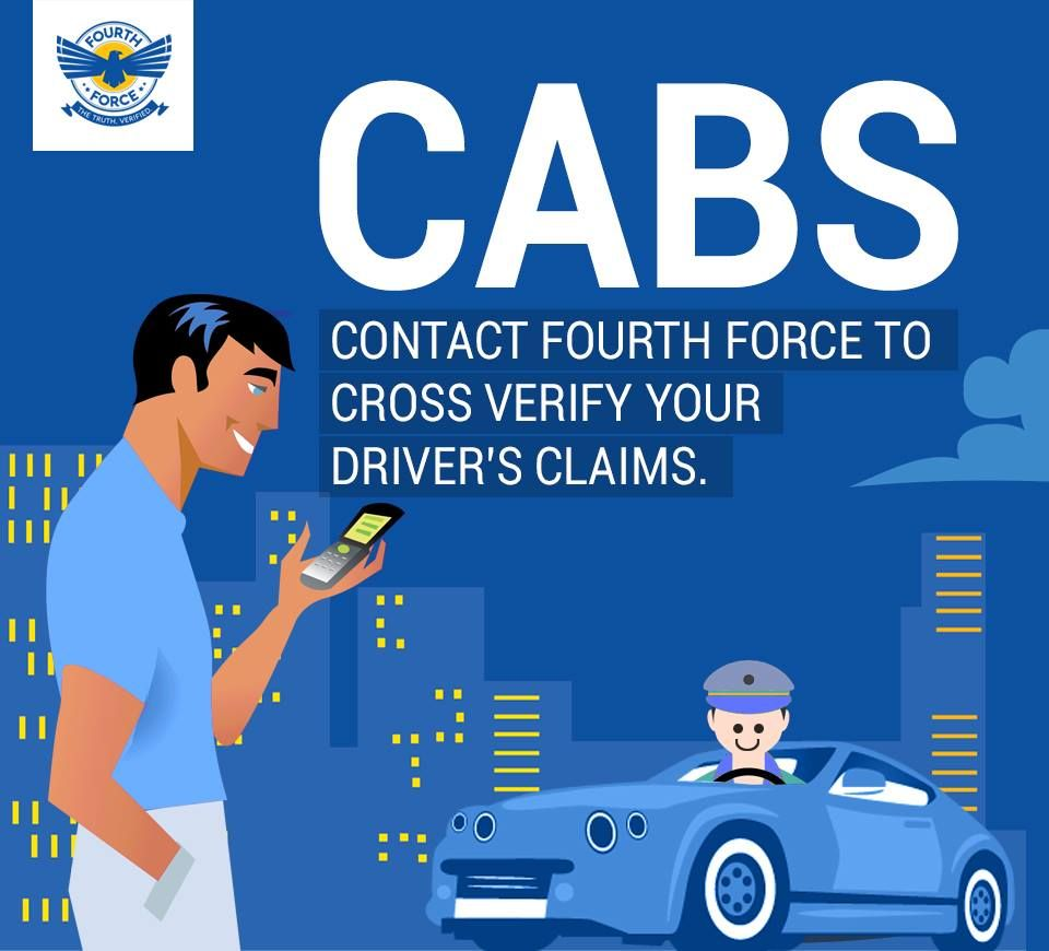 Contact Fourth Force To Cross Verify Your Driver S Claims Get To Know Your Driver Past Through Fourt How To Gain Confidence Information Overload Getting To Know You