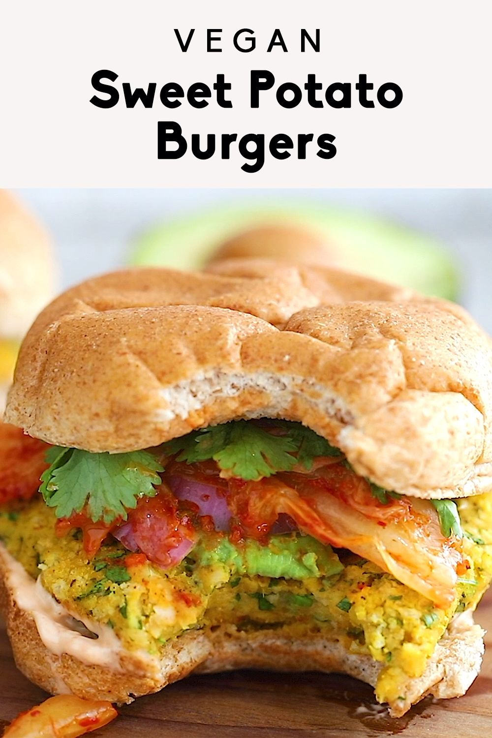 Vegan Sweet Potato Burgers images
