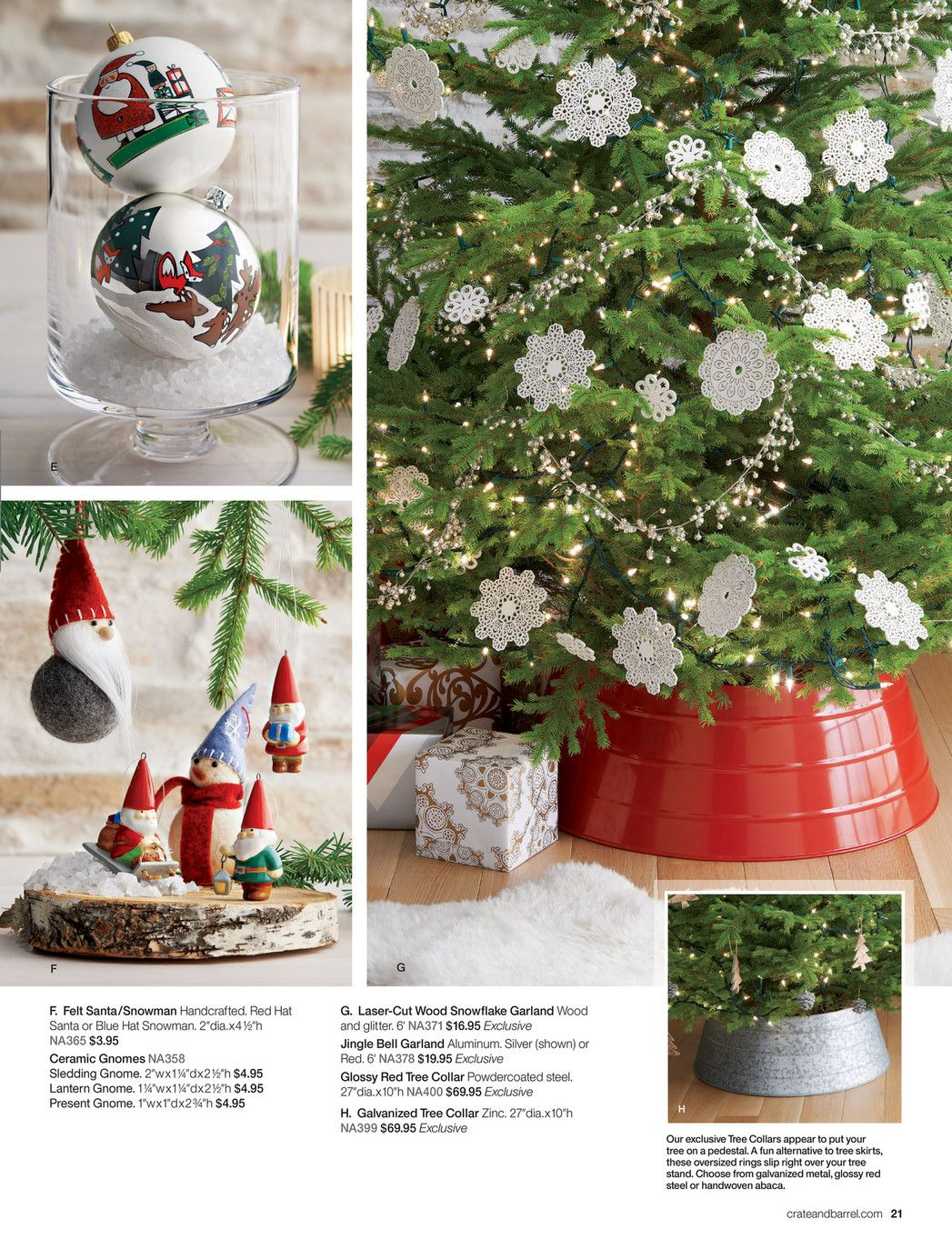 Christmas Crate And Barrel.Crate Barrel Holiday 2015 Page 20 21 Christmas Ideas