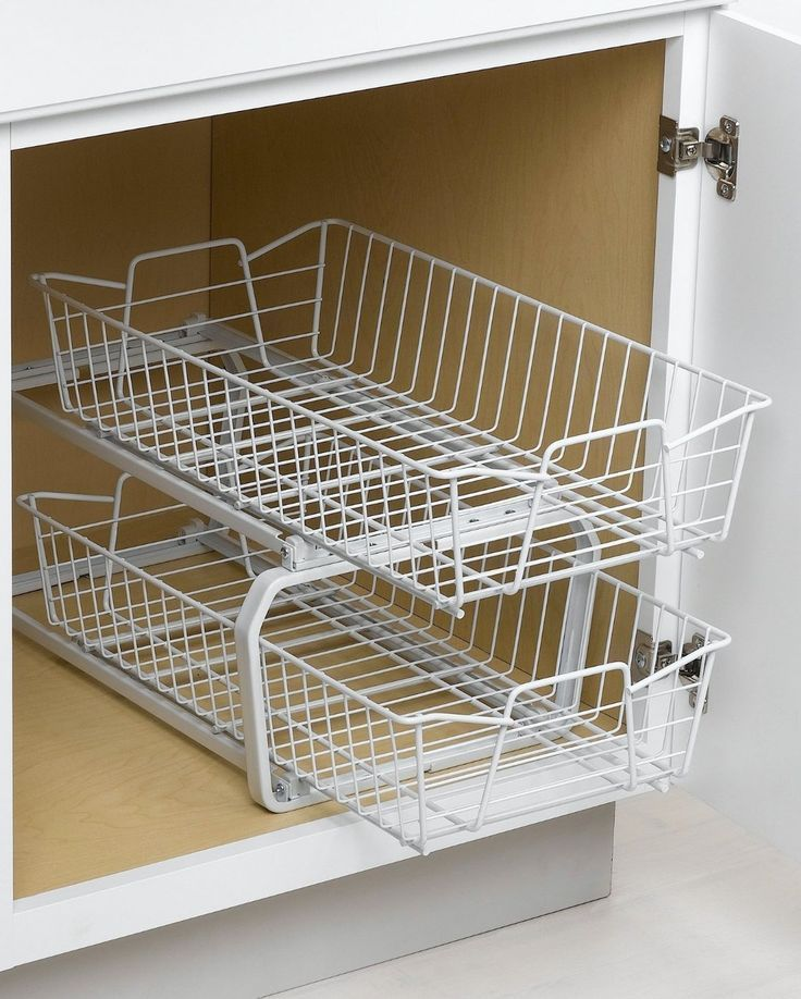 cabinet organizers pull out | Pull out kitchen cabinet organizers | FindaBuy #cabinetorganize... #cabinetorganizers