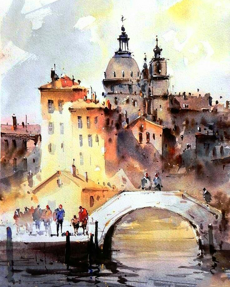 Watercolor Painting Art Drawing Illustration Paint Sketch