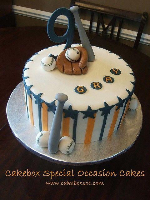 Baseball Cake Baseball Pinterest Cake Birthday Cakes And