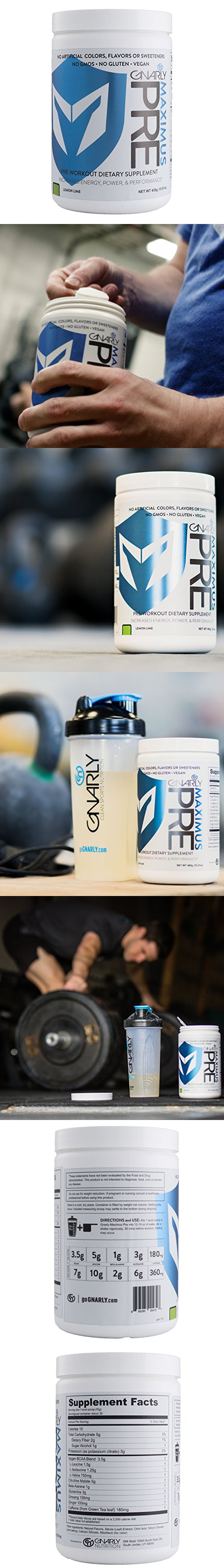 Gnarly Nutrition Maximus All Natural Pre Workout With Beta Alanine