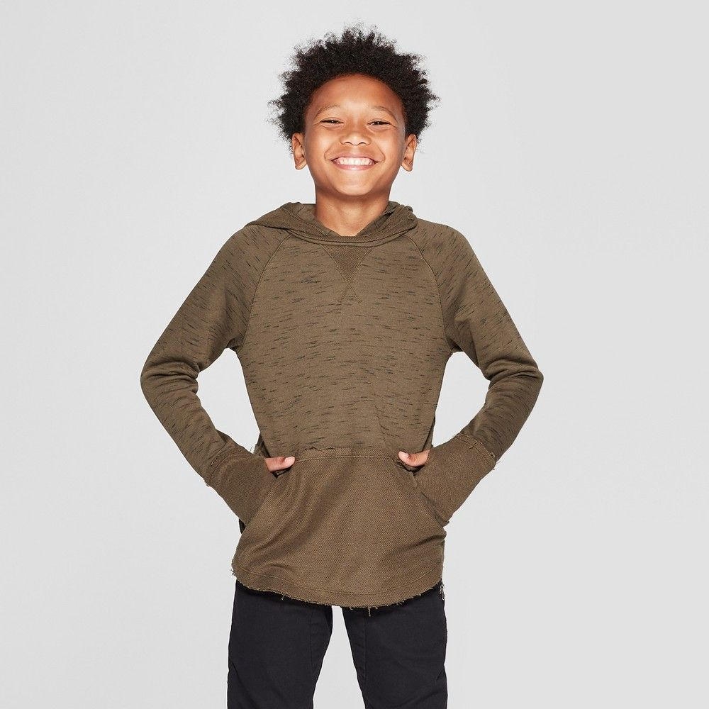 2c5e5c1e39f Your cool dude will love to stay covered and cozy in style with this  Long-Sleeve Heathered Sweatshirt from art class. This boys  heathered  sweatshirt ...