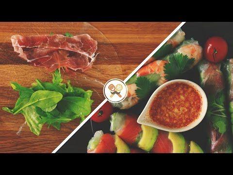 『鮮やか生春巻き』 ベトナムの代表的メニュー! FRESH SPRING ROLL - YouTube