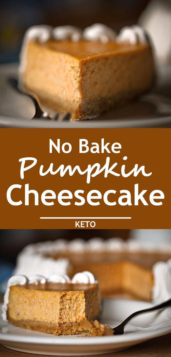 No Bake Pumpkin Cheesecake Recipe Pumpkin Cheesecake