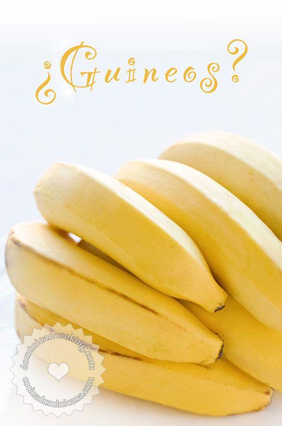 ¿Por qué a las bananas les llamamos 'guineos'? La palabra dominicana para las banana es guineos, en vez de bananas, ¿cual es la razón?
