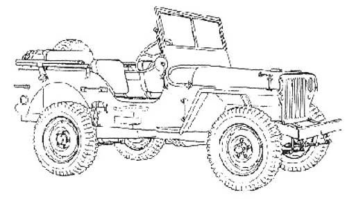 Jeep Car Race Off Road Coloring Page Off Road Car Car Coloring