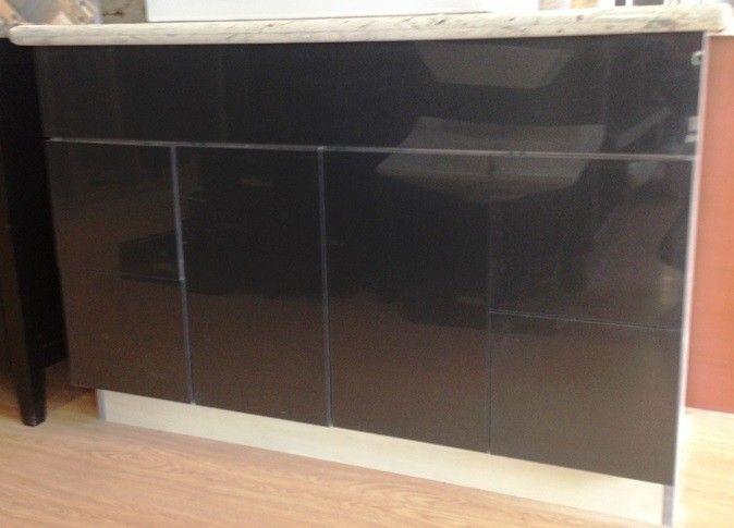 Dkbc High Gloss Acrylic Grey Flat M32 Kitchen Cabinets And