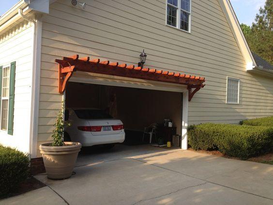 tatertots and garage the door diy trellis ideas gate pergola pergolatrellis over