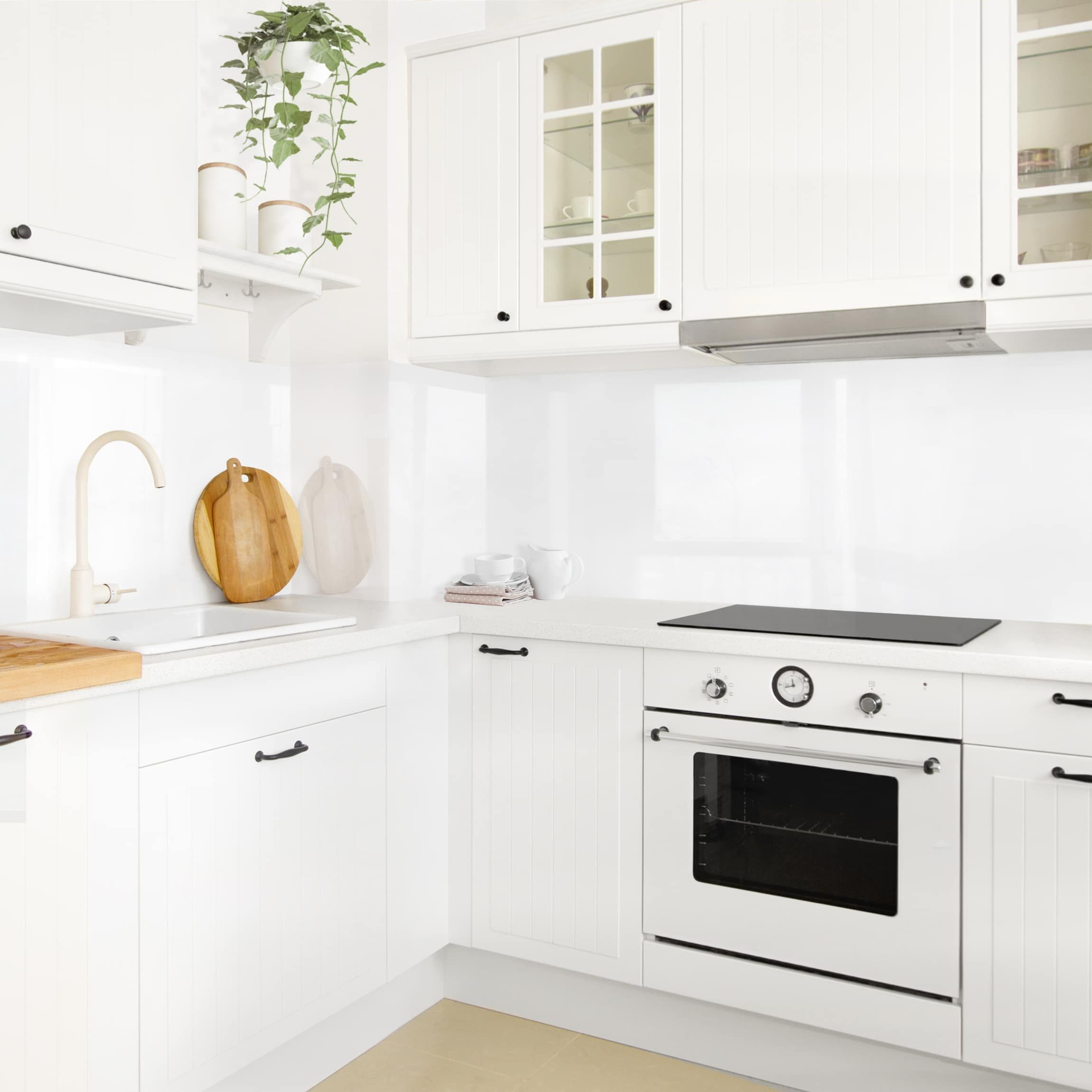 Rivestimento cucina - Bianco polare nel 2019 | Piastrelle ...