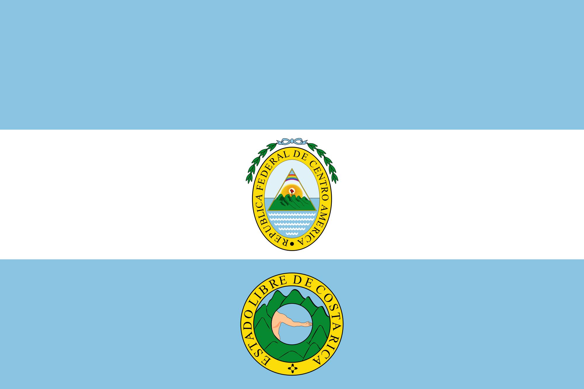 Costa Rica 1824 1840
