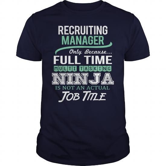 AWESOME TEE FOR RECRUITING MANAGER T-SHIRTS, HOODIES, SWEATSHIRT (22.99$ ==► Shopping Now)