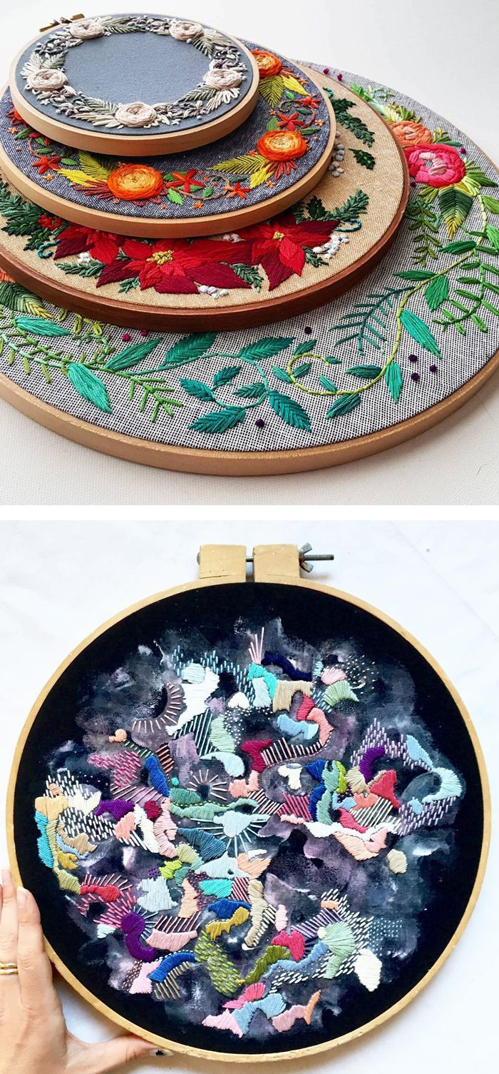 examples of embroidery inspiration thatull make you want to