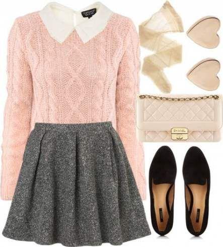 39 trendy skirt winter work grey