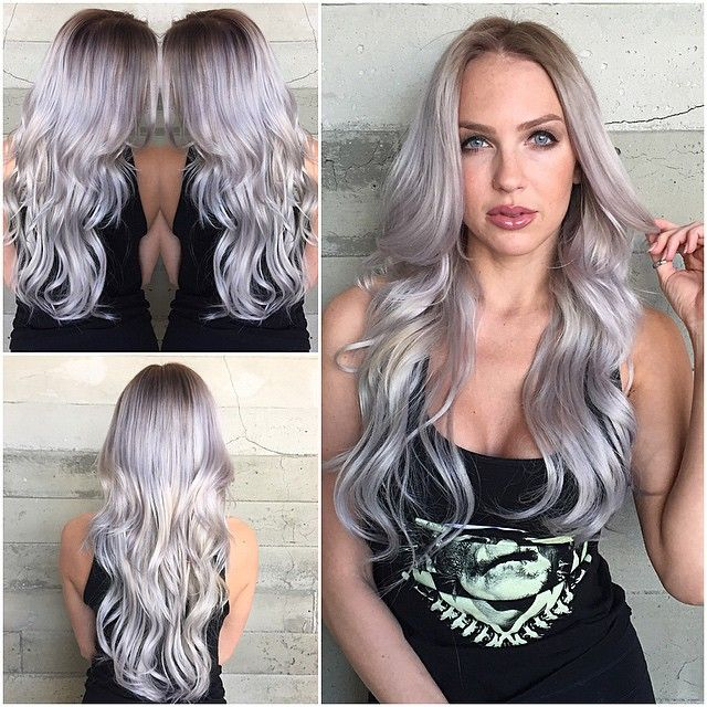 Ice Ice Baby Silvery Blue By Butterfly Loft Stylist Larisa Hair Inspiration Color Hair Salon Hair Color