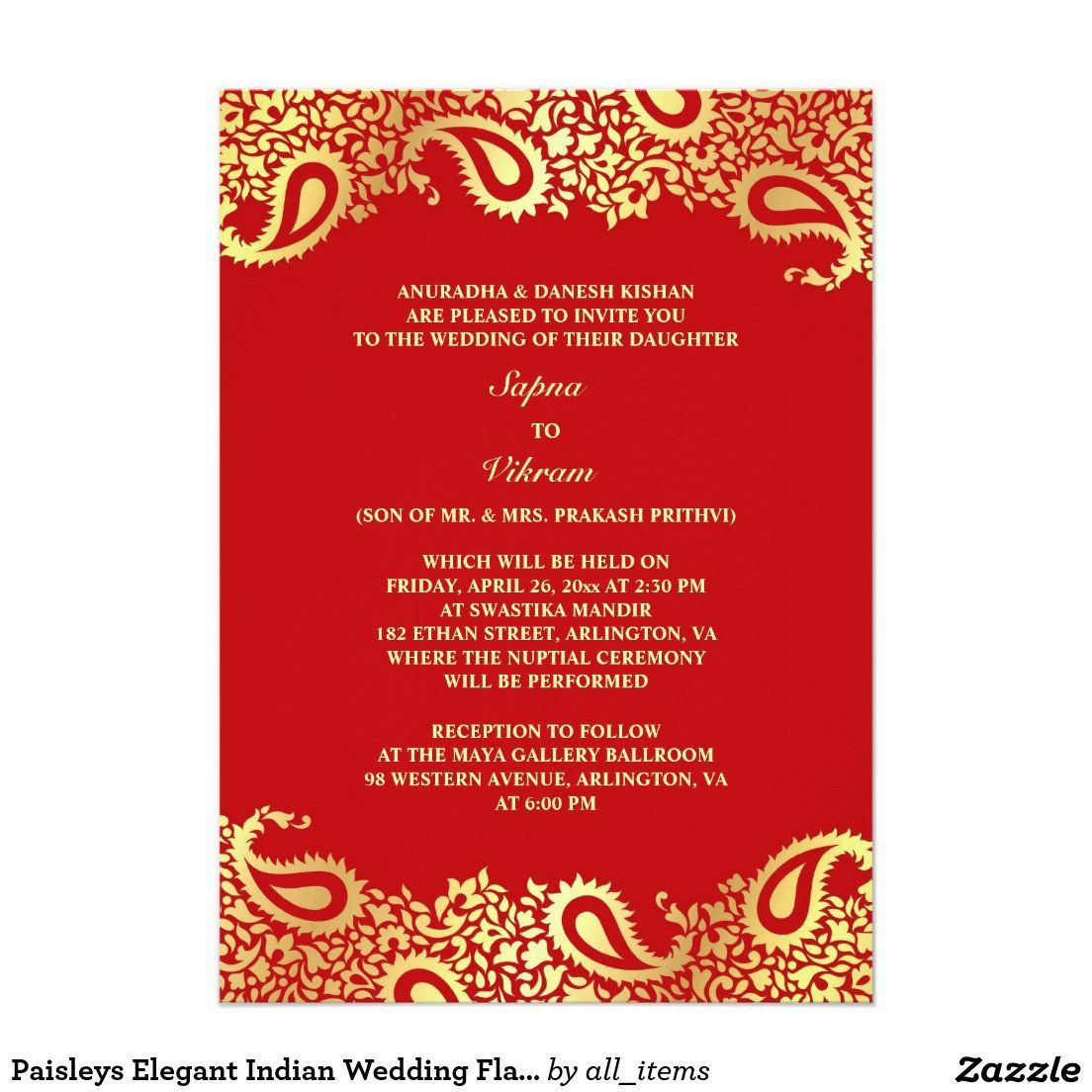 hindu wedding invitation template fresh indian wedding