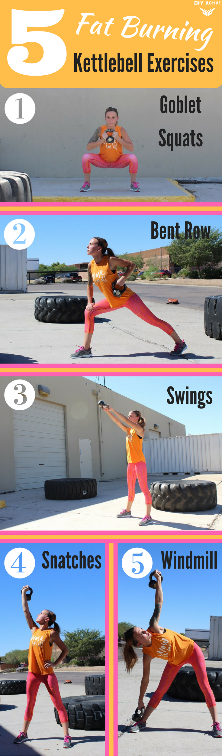 0c2c57239a0 5 Kettlebell Exercises to Add to Your Workout Routine via @DIYActiveHQ  #fitness #kettlebell #workout